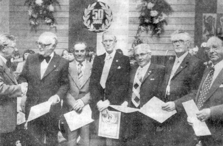1976  ehrungen 50-jahr-feier