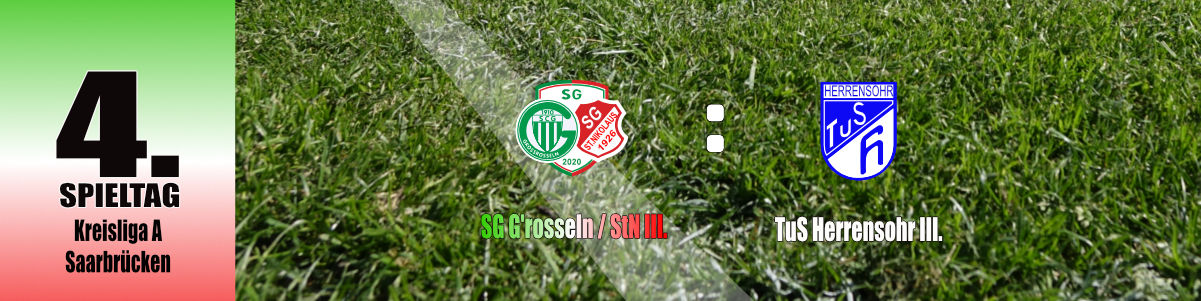 4. Spieltag des Kreisliga A-Teams!